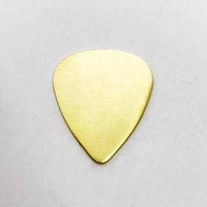 Brass Guitar Pick 20g-Brass Guitar pick Plectrum Stamping blank Stamping supplies Next of Kenn Ag Metalz Blanks Etch Etching Enamel Enameling Supply